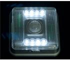 Lampe / Bewegungsmelder Batteriebetrieben mit  8 Led  nur 5,69€ statt 7,29€ @ebay