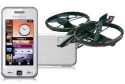 Neue Artikel im Conrad B-Waren-Verkauf bei eBay, z.B. Samsung S5230 Star für 42 Euro oder Silverlit Helikopter Space Phönix für 35 Euro