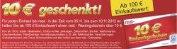 """[offline] Real – 10% beim Einkauf sparen durch Aktion: """"für 100€ einkaufen und 10€ Cashback"""""""