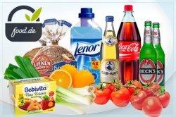 Online-Supermarkt food.de –  Wertgutschein in Höhe von 30 € für 15€ bei Groupon