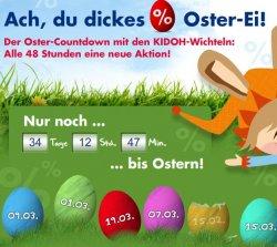 """""""Osterkalender"""" bei Kidoh ab sofort alle 48h eine neue Aktion und satten Rabatten!"""