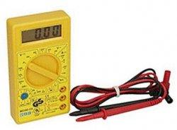 TÜV geprüftes Digital Multimeter inkl. 9V Batterie für 4,90 €. inkl. Versand @ebay
