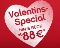 [Valentins-Special] Air-Berlin Hin und Rück Flug ab 88€