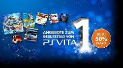 Vom 6.02-20.02 50% Rabatt auf verschiedene PlayStation Vita Games