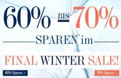 Wintersale auf dress-for-less nur bis Sonntag 60% bis 70% Rabatt + 10 € Gutschein