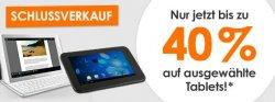WSV bei notebooksbilliger.de bis zu 40% auf ausgewählte Tablets