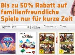 10€ Gutschein und zusätzlich bis zu 50% Rabatt auf viele Spiele wie FIFA13, NEED FOR SPEED,usw bei Origin