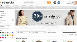 20% auf Zalando Collection mit Gutschein