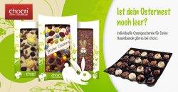Schokolade selber gestalten – 40€ Chocri–Gutschein für 15,92€