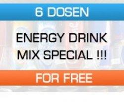 6 Gratisdosen Energie Drink @flaschen-alarm.de