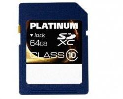 64GB Platinum SDXC Karte für 28,84€ mit Gutschein @voelkner.de