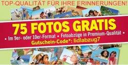 75 Gratis-Fotos von Lidl + 50% Gutschein für Fotobücher