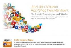 Amazon App Shop verschiedene Spiele und Programme kostenlos – Hit des Tages
