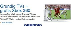 Amazon Grundig TV Aktion: gratis Xbox 360 Limited Edition beim Kauf dazu !