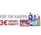 Auf Amazon.de: Henkel Produkte für 10 Euro kaufen und nur 7 Euro bezahlen!