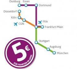 city2city Fernbusfahrten – im April 2013 jede einfache Fahrt für 5€
