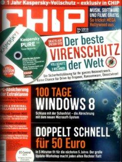 Computermagazin Chip mit DVD – Jahresabo für effektiv 14,88€