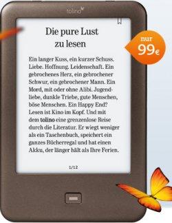 tolino shine WLAN e-Reader dank 10€ Gutschein für 89€ @Thalia.de – gilt nur, wenn noch ein Zubehör dazugekauft wird!
