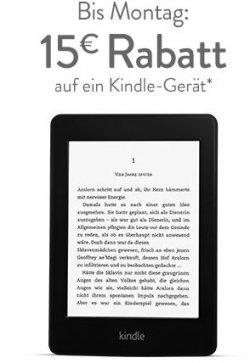 Kindle eReader bei Amazon bis zum 25.03 um 15 Euro reduziert