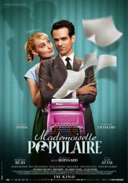 Kostenlos zu zweit  ins Kino zu Mademoiselle Populaire bei Brigitte.de