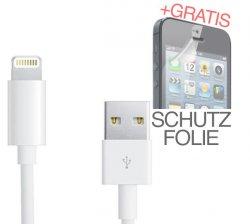 Lightning Kabel für Apple iPhone 5, iPod 5G, iPod nano für nur 2,99 € mit Versand aus Deutschland @eBay