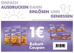 Milka Kekse verschiedene Sorten | 1€ Rabatt Coupon