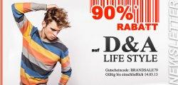 neue Aktion mit 90% Rabatt bei Hoodboyz – diesmal für Bekleidung der Marken D&A, Fuya Couture +  Fuya