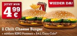 Neue Burger King Sparscheine