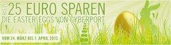 Ostereier suchen & bis zu 25 Euro Rabatt sichern. Cyberport via Facebook