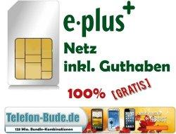 Prepaid Sim im E-Plus e+ Netz inkl. 5€ Guthaben Gratis ,KARTE Kostenlos @eBay