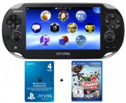 Sony PlayStation Vita WiFi + Game Little Big Planet + 4GB Speicherkarte für 170€ (statt 225€)