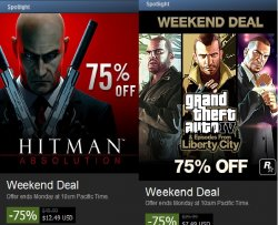 Steam Weekend: 75% auf Hitman, Collection, Absolution…
