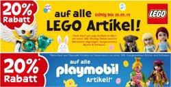 toysRUs – 20% auf alle Lego Artikel, MB Spiele, Parker Spiele, Haspro, Playmobil Artikel und Versandkostenfrei bei Paypal