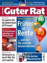 Zeitschrift Guter Rat im Jahresabo für nur 2,60€ (cashback durch Verrechnungsscheck)