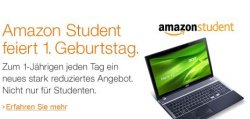 1 Jahr Amazon-Student – Jeden Tag ein stark reduziertes Angebot