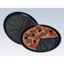 2 Profi- Pizzabackbleche für 5.14€ statt 9,99€  @amazon+3€ Versand (Versandfrei mit Prime/ bzw. ab 20€)