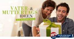20% auf Geschenkideen zum Muttertag & Vatertag bei Tchibo online (nur mit PrivatCard)