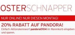 20% auf Pandora Schmuck bei @Karstadt Online | Versandkostenfrei