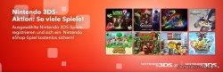 3 Nintendo DS Spiele registrieren, 1 Aktionstitel im Wert von 36€ gratis erhalten @nintendo.de