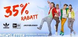 35% auf Addidas, Jack&Jones, New Era bei Hoodboyz.de