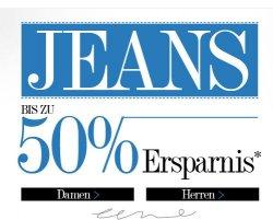 50% auf Jeans + 22% Rabatt durch Gutschein des Tages bei dress-for-less