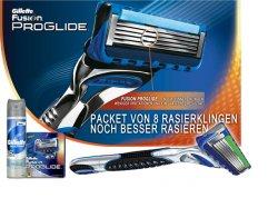 [Lokal] 5€ Gutschein zum Ausdrucken für Gillette Fusion Rasierer oder 4 / 8 Klingen