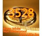 5M Double Row (zweireihig) LED Strip Streifen mit 1200 LEDs, warmweiß, für 24,82€ @eBay