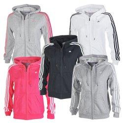 ADIDAS Kapuzenjacke in Pink oder Schwarz für 44,95€ statt 59,95€ XS – L @eBay