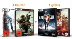 Aktion: Medal of Honor ODER Battlefield 3 GRATIS beim Kauf von Crysis 3 oder Dead Space 3 @Amazon