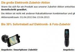 Amazon | Bis zu 30% Extra Rabatt auf Elektronik Zubehör von verschiedenen Marken