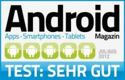 Android-Magazin im Jahresabo inkl. zwei Gameloft-Spielen und dem Android Apps Kompendium für 14,90 € statt 60,28 €