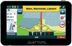 Arival Europanavi mit TMC, Fahrspurassistent und 4,3 für 44€ inkl. Versand per Gutscheincode