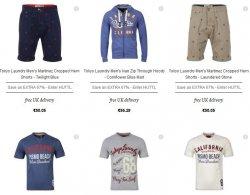 Bis zu 67% oder 12,50 Euro Rabatt auf Tokyo Laundry Hoodies, Kargohosen, Shirts etc. @TheHut.de