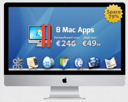 Das deutsche Mac Bundle mit Parallels 8 49,99€ statt 246€
